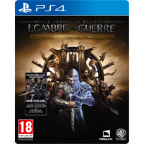 WARNER BROS - La Terre du Milieu : L'Ombre de la Guerre - Gold Edition - PS4
