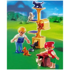 arbre a chat playmobil