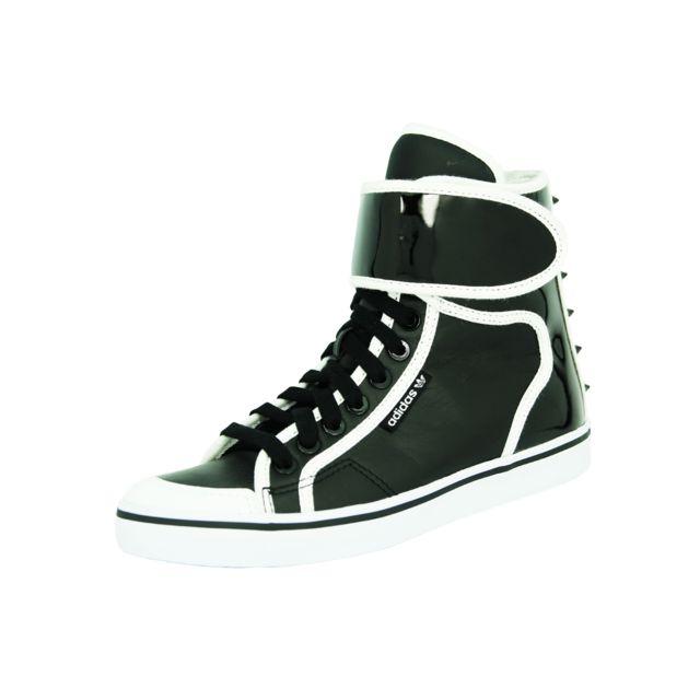 f66107f5fb3ee Adidas originals - Adidas honey hi strap ef w chaussures mode unisexe cuir  noir