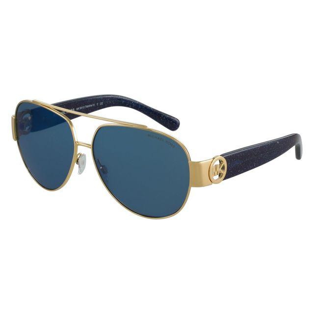 Michael Kors - Tabitha Ii Mk5012 106955 Or - Bleu pailleté - Lunettes de soleil