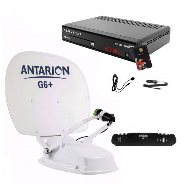 antarion pack antenne satellite compacte sp cial fourgon camping car r cepteur tntsat hd