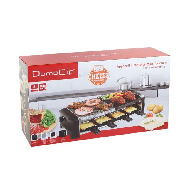 Domoclip - Appareil à raclette multifonction Doc138