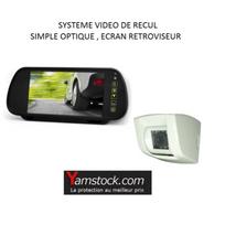 Antarion - Pack Camera de recul 7 camping car sur rétroviseur