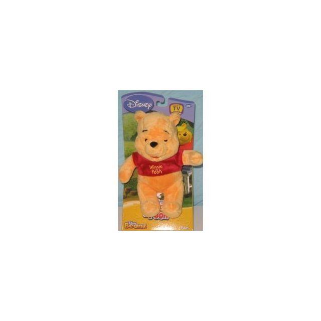 WINNIE L'OURSON My Friends Tigger and Pooh Disney Winnie the Pooh Beanz Plush 8 inch