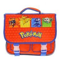 Pokémon - Cartable scolaire 36cm pour école élémentaire maternelle et primaire Pokemon
