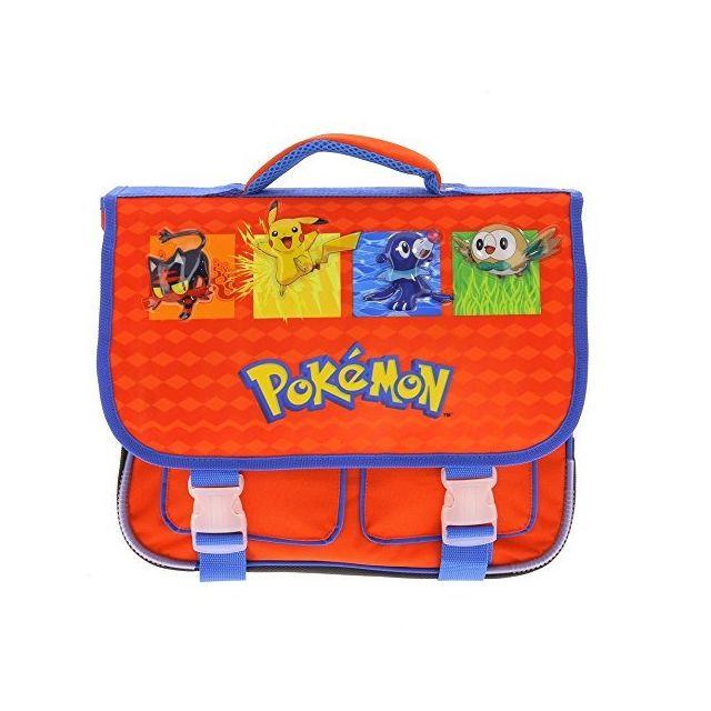 nouveau concept bc3bc 69a4c Cartable scolaire 36cm pour école élémentaire maternelle et primaire Pokemon