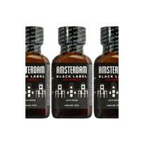 Amsterdam - Poppers black label par 3