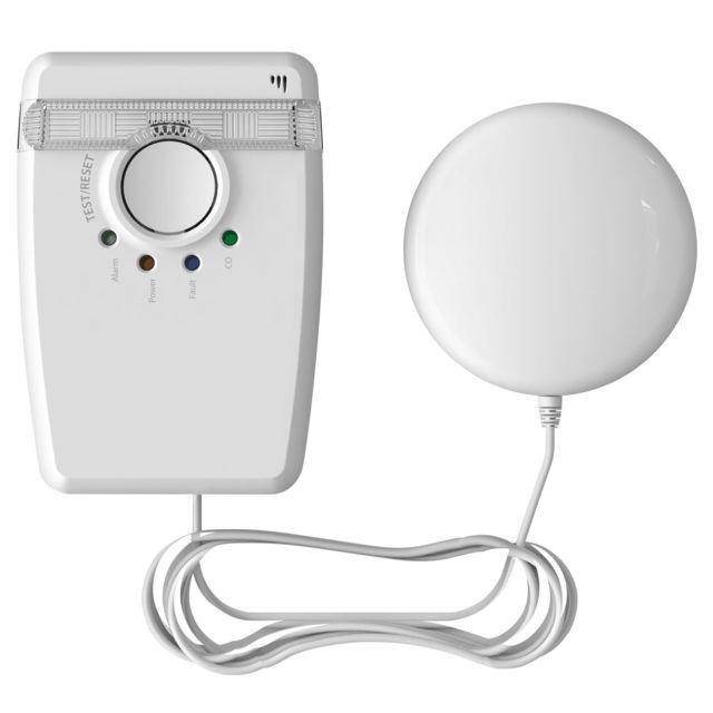 Fireangel Dispositif d'alerte combiné lumière stroboscopique et coussin vibreur AngelEye W2-SVP630-EU- Garantie 5 ans - -connecté sans fil à un détecteur de fumée Wst-ae630, il émet une alerte combiné lumineuse et vibrante - -idéal pour les occupants sour