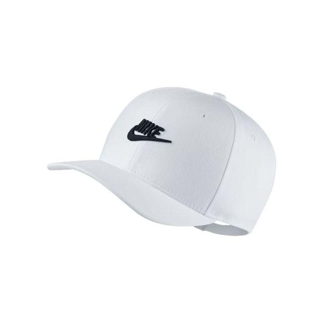 bien pas cher acheter pas cher conception adroite Nike - Casquette Snapback blanc noir - pas cher Achat ...