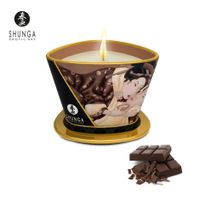 Shunga - Bougie de Massage Lueur et Caresse Chocolat