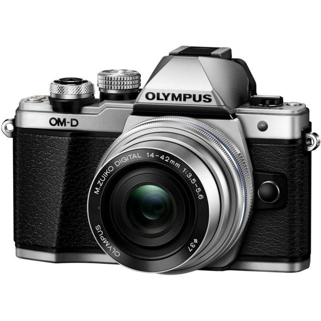 OLYMPUS Hybride OM-D E-M10 Mark III 14-42 Silver