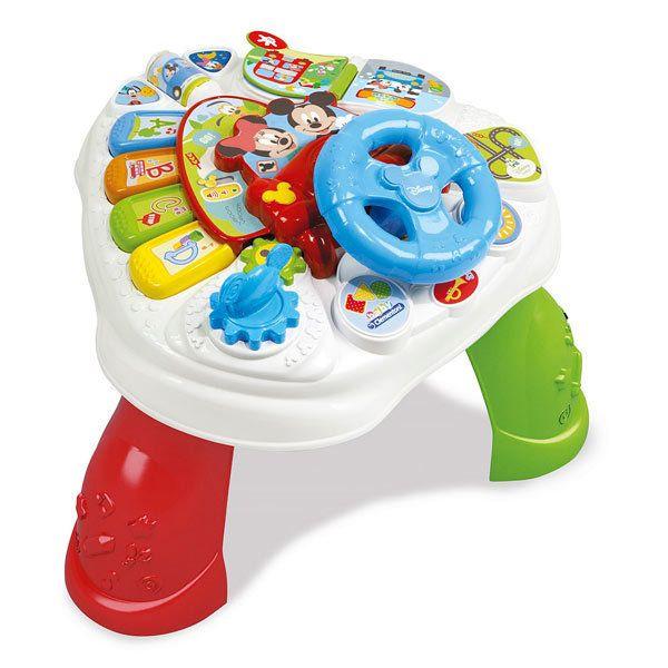 Clementoni - Mickey - Table d'activités Baby Mickey