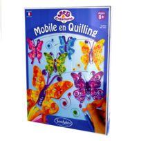 Sentosphère - Art & Créations : Mobile en Quilling : Papillons