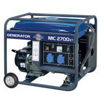 Mecafer - Génerateur thermique 2400W 6,5Hp avec Kit roues - Mc2700KT