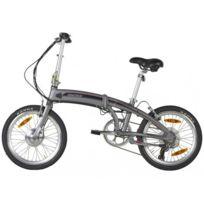 INNOWIN - Vélo pliable à assistance électrique ASPIN argent - 36V - 20 pouces