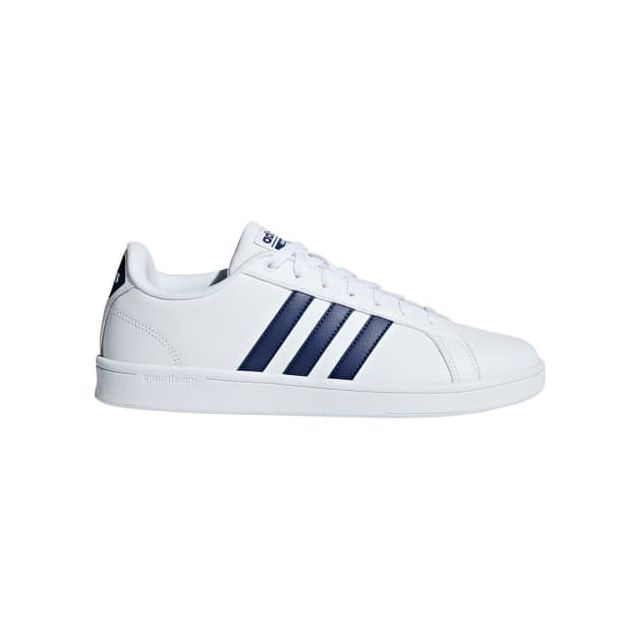 Pas Neo Foncé Chaussures Bleu Cloudfoam Advantage Adidas Blanc A6w0xqSxv