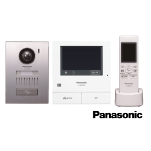 panasonic pack interphone vid o sans fil montage encastr pas cher achat vente portier. Black Bedroom Furniture Sets. Home Design Ideas