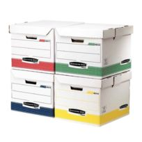 Bankers Box - container à archive assortis - paquet de 12