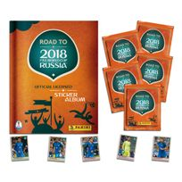 Panini Editions - Pack de Démarrage Panini Road to 2018 Fifa World Cup Russia