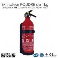 SecuriteGOODdeal - Extincteur à poudre 1 Kg Abc Nf