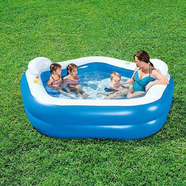 Bestway piscine gonflable pataugeoire 575 litres pas cher achat vente piscines gonflables - Piscina bebe carrefour ...