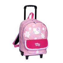 Scolaire - Sac à dos Xl à roulettes - Hello Kitty Rose - 6_19849 - Sacs - à