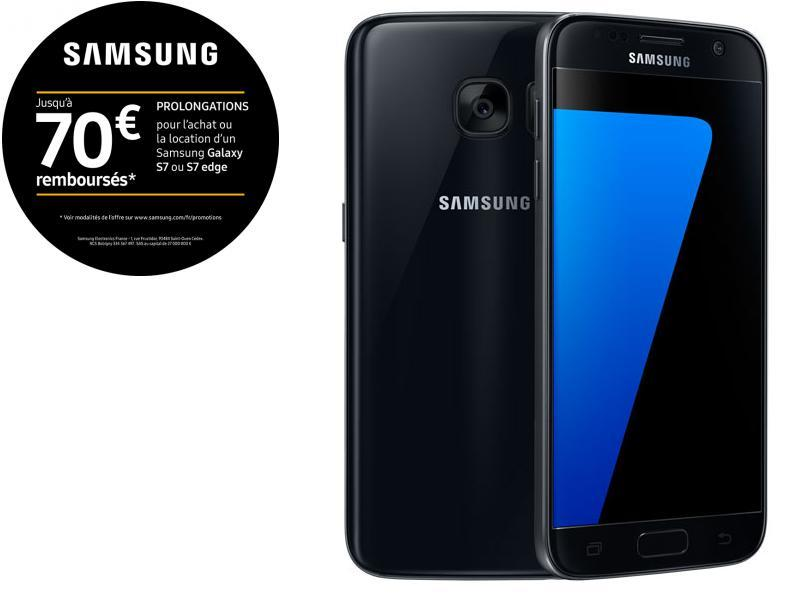 Galaxy S7 - Noir