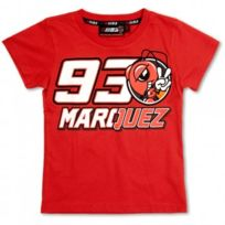 Marquez 93 - T-shirt Kid Red Mm93