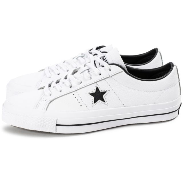 converse one star blanche homme
