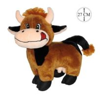 Sans Marque - Peluche Vache 27cm