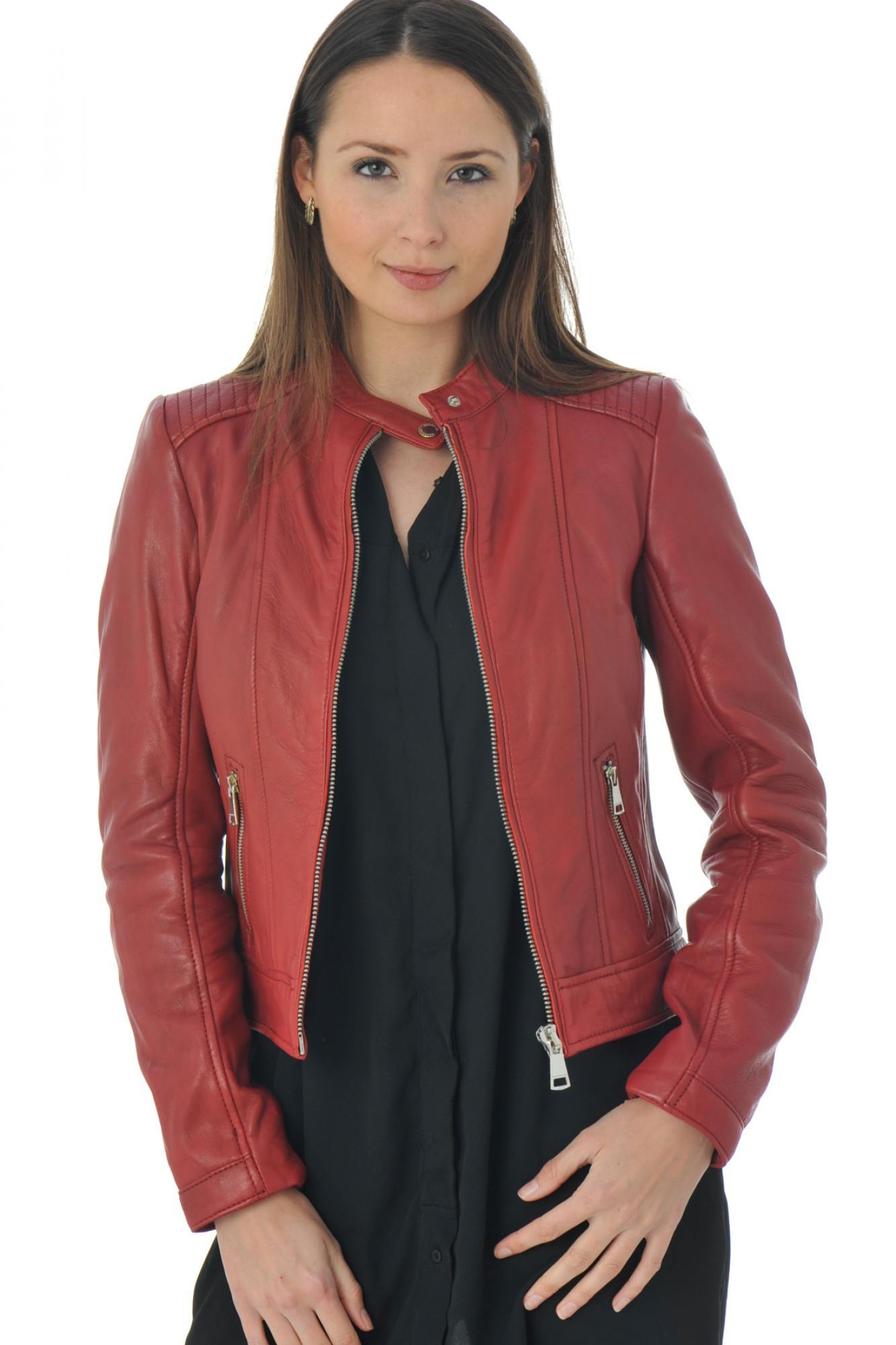 Blouson Theory cobra hot red p16