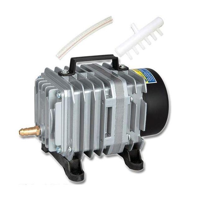 Wewoo Pompe aquarium 58W 75L / Min compresseur de à air électromagnétique augmentation réservoir poissons fruits mer augmentan