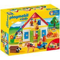 Playmobil - Coffret Grande ferme 1.2.3 - 6750