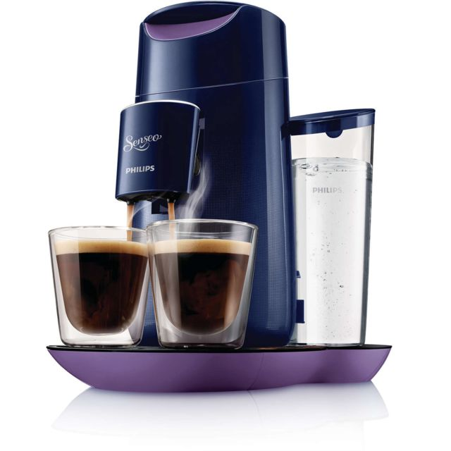 PHILIPS Machine à café à dosettes HD 7870-41 SENSEO TWIST Purple