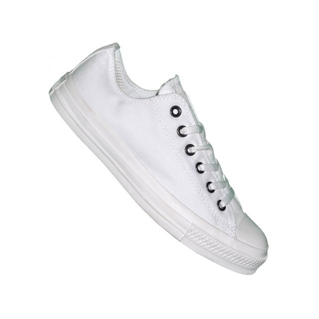 6a8401f463180 Converse - Basket - All Star Basse Ox - 1u647 - Blanc Monochrome - pas cher  Achat   Vente Baskets homme - RueDuCommerce