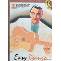 Bookmakers International - Partitions Jazz&blues Reinhardt Django - Easy Django Vol.1 + Cd - Guitare Tab Guitare