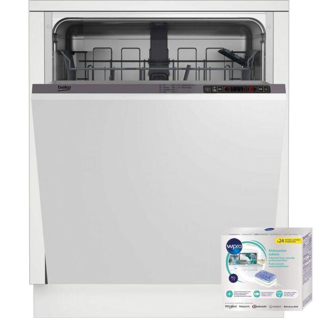 Beko Lave-vaisselle Tout Intégrable Encastrable 46dB A+ 13 couverts Séchage par condensation
