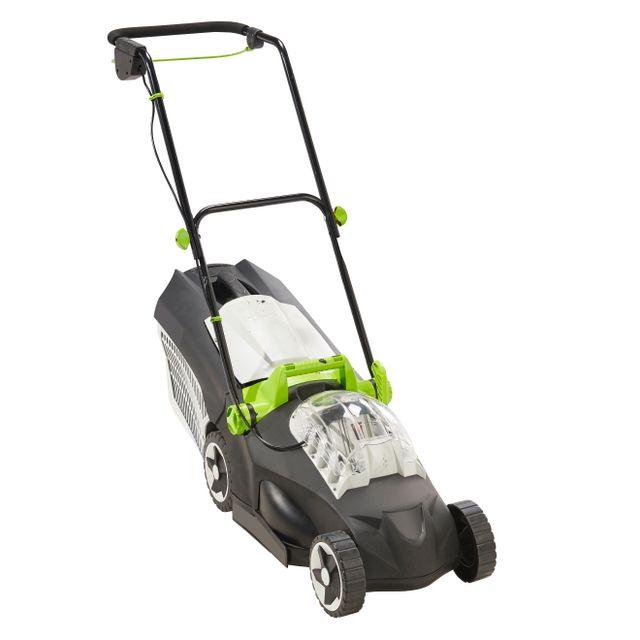 greencut tondeuse 36 v batterie 4 ah mor lr01 370 pas cher achat vente tondeuses. Black Bedroom Furniture Sets. Home Design Ideas