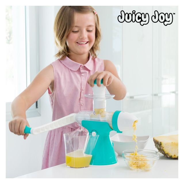 Appetitissime Machine à Jus et Glaces avec Manivelle Juicy Joy
