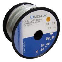 Omenex - Bobine câble Ethernet catégorie 6 Ftp 25m