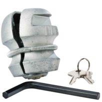 Provence Outillage - Anti vol boule de remorque avec clés