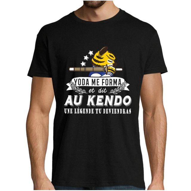 CLOSSET Kendo | Légende Yoda | Tshirt Homme Collection Sport Humour Geek pour Tous Les Sportifs Passionnés Xl