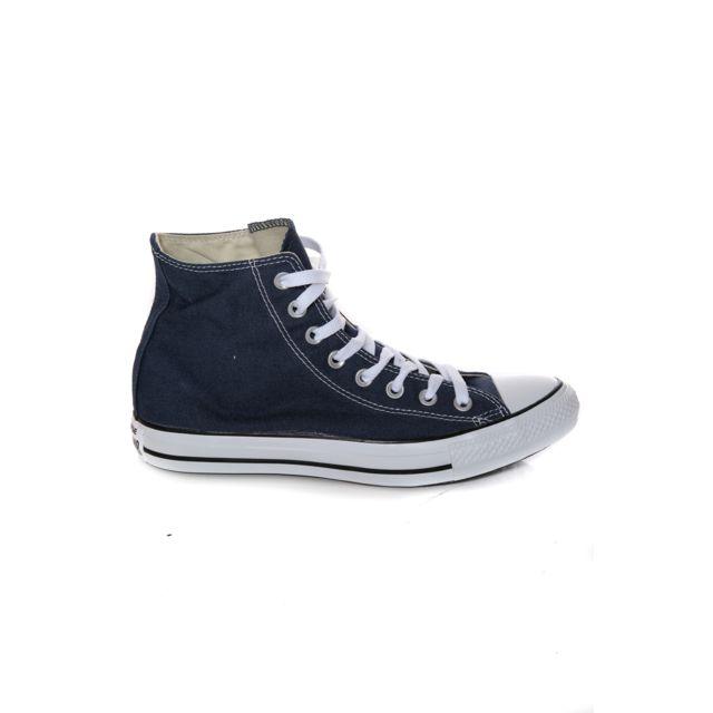 91545824881d Converse - All Star Montante Navy - pas cher Achat   Vente Baskets ...