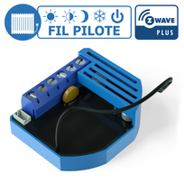 Qubino - Module Fil Pilote encastrable Z-wave Plus