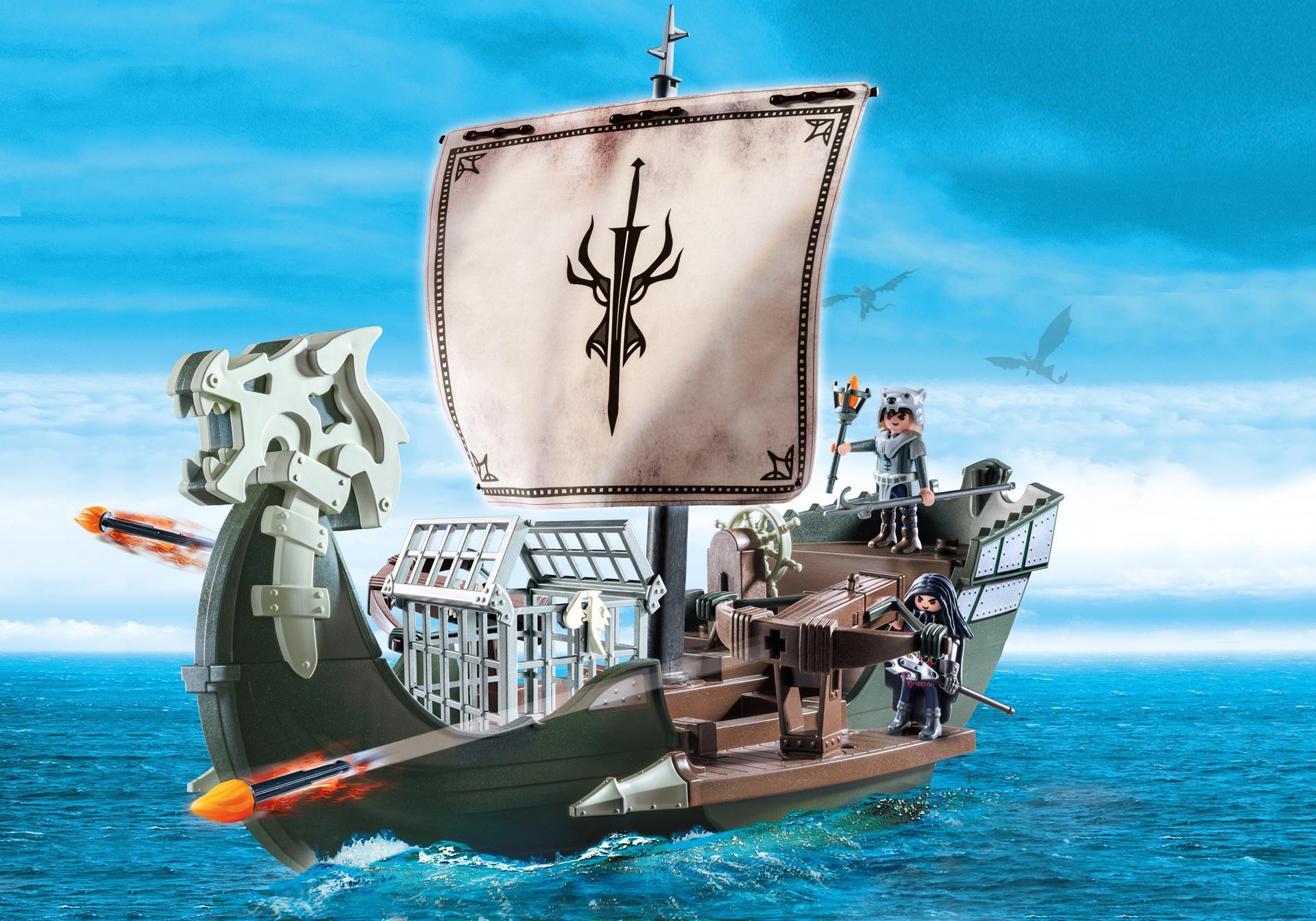 Dragons - Drago et vaisseau d'attaque - 9244