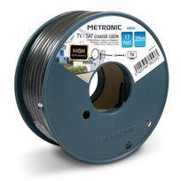Metronic - Câble coaxial Tv / Sat 17 PatC 25 m