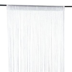 alin a filou rideau fil fil blanc 90x260cm pas cher. Black Bedroom Furniture Sets. Home Design Ideas