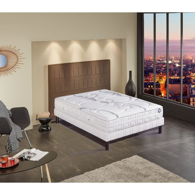 bultex ensemble nano clearness 160x200 blanc pas cher achat vente ensembles de literie. Black Bedroom Furniture Sets. Home Design Ideas