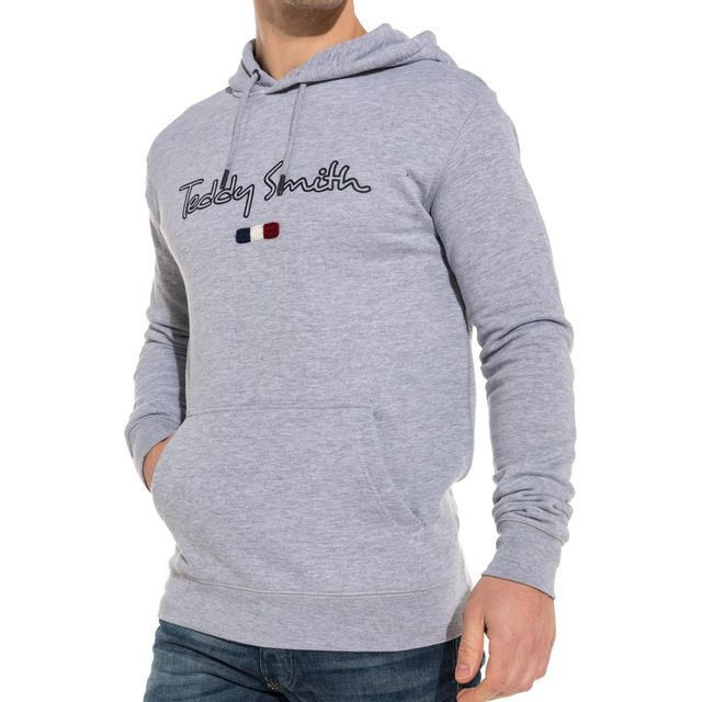 Sweat Pas Vente Smith Logo Basic Gris Cher Hoodie Achat Teddy xpfqwFv