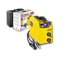 GYS - Poste à souder à l'électrode MMA + TIG livré en valise et avec accessoires GYSMI E160 016002